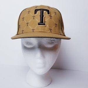 Texas Rangers Baseball Fitted Cap Hat
